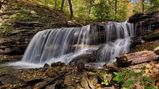 Free Water Falls In Time Lapse Photography Royalty Free Stock Photos - 83062588