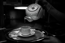 Free Tea Pot And Cup Stock Image - 83062741