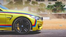 Free BMW M4 Car On Road Stock Photos - 83063043