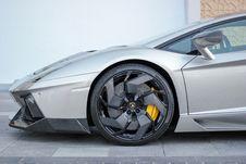 Free Lamborghini Sports Car Royalty Free Stock Photo - 83063055