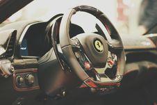 Free Ferrari Car Interior Royalty Free Stock Image - 83063066