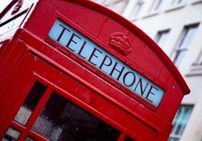 Free Red And White Telephone Booth Stock Photo - 83063210