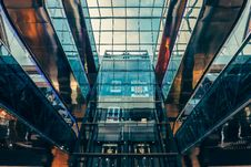 Free Worm S Eye View Of Glass Panel Building Stock Photography - 83063232