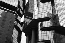 Free Grayscale Photo Of Glass Building Stock Photo - 83063280