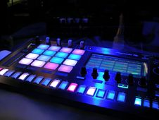 Free Lighted Dj Board Royalty Free Stock Photos - 83063288