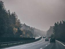 Free Traffic On Autobahn, Germany Royalty Free Stock Image - 83063356