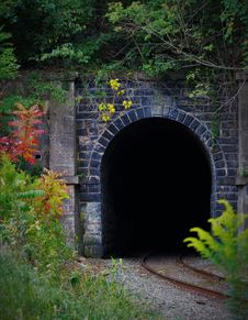 Free Photo Of Train Tunnel During Daytime Stock Image - 83063571