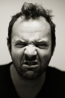 Free Angry Man Grimacing Royalty Free Stock Photos - 83063848