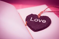 Free Love Pendant Necklace Stock Images - 83063904