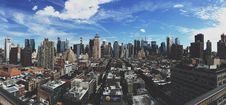 Free View Over Manhattan Stock Photography - 83064212