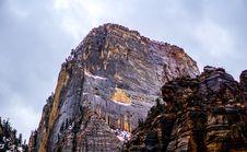 Free Rock Formation Under Nimbus Sky At Daytime Stock Photos - 83064283