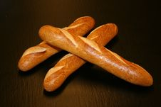 Free Loaves Of French Baguettes Stock Images - 83064524