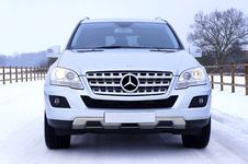 Free White Mercedes Benz Car On White Snow Covered Ground At Daytime Stock Photo - 83064710