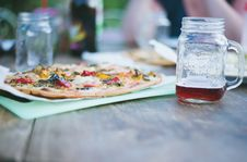 Free Pizza And Drink Stock Photos - 83064793