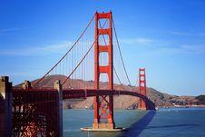 Free Golden Gate Bridge, San Francisco, C Royalty Free Stock Images - 83064829