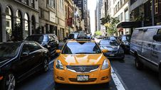 Free Traffic On New York Streets Royalty Free Stock Image - 83064866