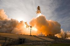 Free Space Shuttle Launch Stock Photography - 83064892
