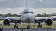 Free Airbus In Airport Royalty Free Stock Image - 83064896