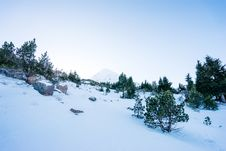 Free Snowy Mountain Slopes Stock Images - 83065094
