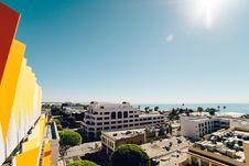 Free Hotel Resort At Seaside Royalty Free Stock Photography - 83065127