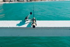 Free Fishing Rod By Sea Stock Images - 83065194