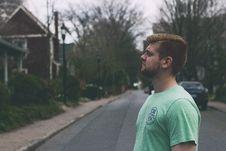 Free Man In Green Shirt Standing Near Pickup Truck During Daytime Stock Photos - 83065263