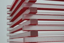 Free White And Red Piled Sticks Stock Photo - 83065300