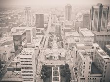 Free Aerial View Of Modern City Royalty Free Stock Photography - 83065777