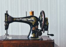 Free Black And Gold Sewing Machine Stock Images - 83066004