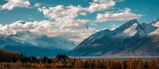 Free Snow Capped Mountains Under Blue Sky And White Clouds Stock Images - 83066184