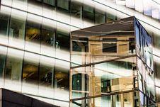 Free Grey Framed Glass Building Stock Photos - 83066563