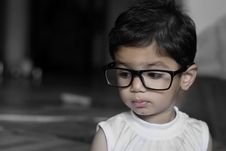 Free Young Girl With Glasses Royalty Free Stock Photos - 83066598