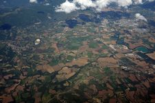 Free Top View Of Green And Brown Field Stock Photo - 83066640
