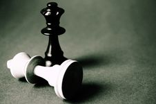Free Black Queen Chess Piece Royalty Free Stock Photography - 83066787