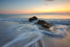 Free Time Lapse Photography Of Sea Wave On Seashore During Daytime Stock Photo - 83067150