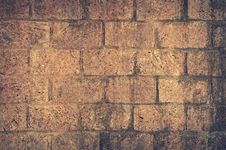 Free Brown And Black Brick Wall Close Up Shot Photography Stock Images - 83067524