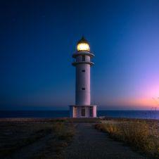 Free White And Black Beacon During Horizon Sunset Royalty Free Stock Image - 83067526
