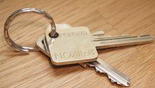 Free Closeup Of Yale Style Keys Stock Photos - 83067733