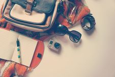 Free Black Framed Sunglasses Near Go Pro Sports Cam Royalty Free Stock Photo - 83067855