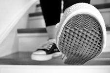 Free Grayscale Photo Of Shoe Sole Royalty Free Stock Photo - 83067985