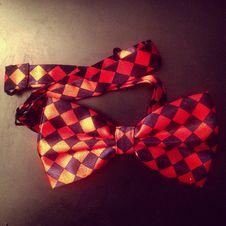 Free Checkered Bow Tie Stock Photos - 83068193