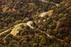 Free Gray Car On Long Winding Road Stock Image - 83074171