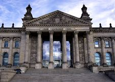 Free Parliament Building, Berlin, Germany Stock Image - 83074231