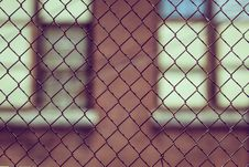 Free Black Metal Wire Mesh Fence Royalty Free Stock Photos - 83074578