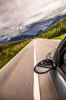 Free Car On Road Stock Images - 83074714