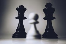 Free Chess Pieces On Board Royalty Free Stock Image - 83075046