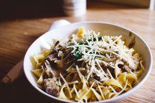 Free Pasta Dish In Bowl Stock Photo - 83075370