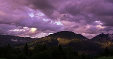 Free Brown Mountain Under Cloudy Sky During Sunset Royalty Free Stock Photos - 83076188