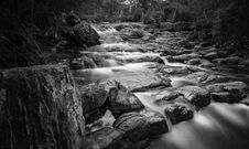 Free Grayscale Time Lapse Photography Of River Royalty Free Stock Photography - 83076247
