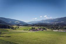 Free Green Grass Field Under Blue Sky Stock Photography - 83076312